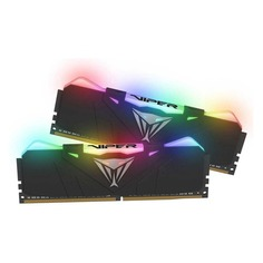Модуль памяти PATRIOT Viper RGB PVR416G300C5K DDR4 - 2x 8ГБ 3000, DIMM, Ret Патриот