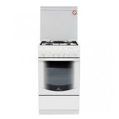 Газовая плита DE LUXE 5040.41г ЧР, газовая духовка, белый