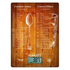Весы кухонные SCARLETT SC-KS57P19, рисунок