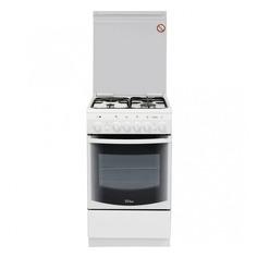 Газовая плита DE LUXE 506031.00гэ, электрическая духовка, белый