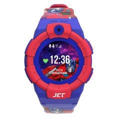 """Смарт-часы JET Kid Optimus Prime, 45мм, 1.44"""", синий/красный / синий/красный"""