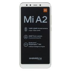 Смартфон XIAOMI Mi A2 64Gb, золотистый