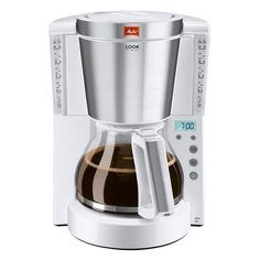 Кофеварка MELITTA Look IV Timer, капельная, белый [6708054]