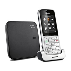 Радиотелефон GIGASET SL450 SYS, серебристый и черный