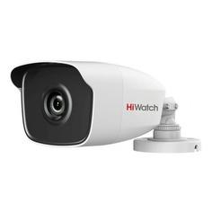 Камера видеонаблюдения HIKVISION HiWatch DS-T220, 1080p, 6 мм, белый