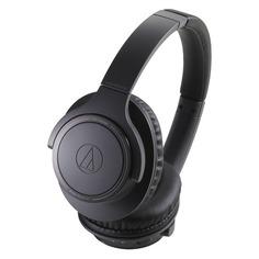 Наушники AUDIO-TECHNICA ATH-SR30BTBK, Bluetooth/USB, накладные, черный [80000227]