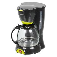 Кофеварка POLARIS PCM1211, капельная, черный / салатовый