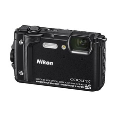 Цифровые фотоаппараты Цифровой фотоаппарат NIKON CoolPix W300, черный