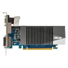 Видеокарта ASUS NVIDIA GeForce GT 710 , GT710-SL-1GD5-BRK, 1ГБ, GDDR5, Low Profile, Ret