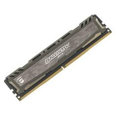 Модуль памяти CRUCIAL Ballistix Sport LT BLS8G4D240FSBK DDR4 - 8Гб 2400, DIMM, Ret