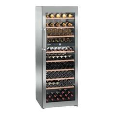 Винный шкаф LIEBHERR WTes 5972, однокамерный, серебристый