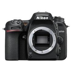 Зеркальные фотоаппараты Зеркальный фотоаппарат NIKON D7500 body, черный