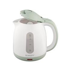 Чайник электрический SCARLETT SC-EK18P55, 2200Вт, белый и ментол
