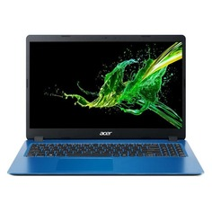 """Ноутбук ACER Aspire A315-54K-375Y, 15.6"""", Intel Core i3 7020U 2.3ГГц, 4Гб, 128Гб SSD, Intel HD Graphics 620, Linux, NX.HFYER.009, синий"""