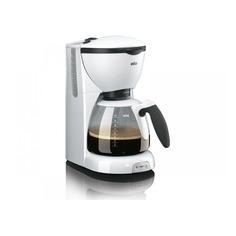 Кофеварка BRAUN KF520/1, капельная, белый [0x13211005]