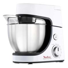 Кухонный комбайн MOULINEX QA51AD10, серебристый/черный