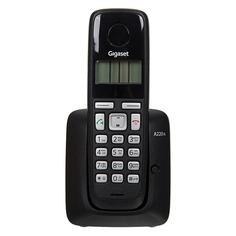 Радиотелефон GIGASET A220A, черный