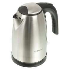 Чайник электрический Bosch TWK7801, 2200Вт, серебристый и черный
