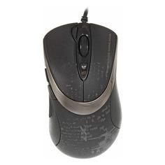 Мышь A4 V-Track F4, игровая, оптическая, проводная, USB, черный