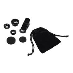 Комлект объективов HAMA Uni, для планшетов и смартфонов, черный [00044338]
