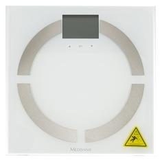 Напольные весы MEDISANA BS 444 Connect, до 180кг, цвет: белый [40444]