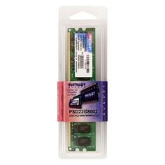 Модуль памяти PATRIOT PSD22G80026 DDR2 - 2Гб 800, DIMM, Ret Патриот