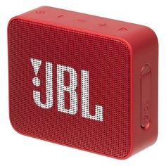 Портативная колонка JBL GO 2, 3Вт, красный [jblgo2red]
