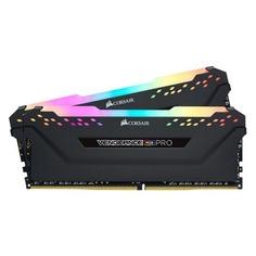 Модуль памяти CORSAIR Vengeance RGB Pro CMW32GX4M2C3000C15 DDR4 - 2x 16Гб 3000, DIMM, Ret