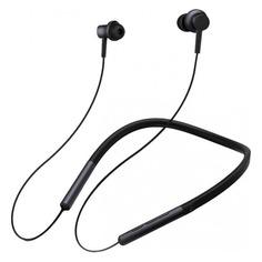 Наушники с микрофоном XIAOMI Mi Bluetooth Neckband/Mi Collar, Bluetooth, вкладыши, черный [zbw4426gl]