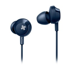 Наушники PHILIPS SHE4305BL, 3.5 мм, вкладыши, синий [she4305bl/00]