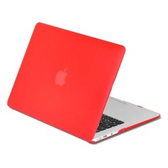 "Накладка 13.3"" DF MacCase-03, красный, для MacBook Pro 13"" Touch bar (A1706/A1708/A1989) [df maccase-03 (red)]"