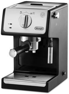 Кофеварка DELONGHI ECP33.21.BK, эспрессо, черный [0132104182]