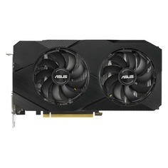 Видеокарта ASUS nVidia GeForce GTX 1660 , DUAL-GTX1660-O6G-EVO, 6Гб, GDDR5, OC, Ret