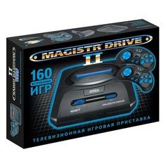 Игровая консоль MAGISTR Drive 2 160 игр, черный