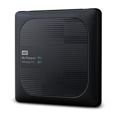 Внешний жесткий диск WD My Passport Wireless Pro WDBSMT0040BBK-RESN, 4ТБ, черный