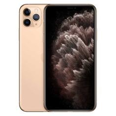 Смартфон APPLE iPhone 11 Pro Max 256Gb, MWHL2RU/A, золотистый