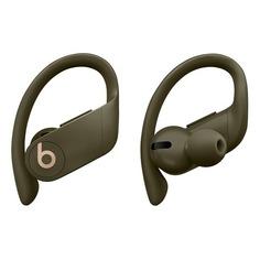 Наушники с микрофоном BEATS Powerbeats Pro, Bluetooth, вкладыши, оливковый [mv712ee/a]