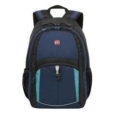 Рюкзак Wenger 3191203408 синий/черный/бирюзовый 33x45x15см 22л. 0.72кг.