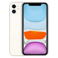 Смартфон APPLE iPhone 11 64Gb, MWLU2RU/A, белый