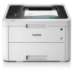 Принтер лазерный BROTHER HL-L3230CDW светодиодный, цвет: белый [hll3230cdwr1]