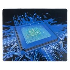 Коврик для мыши BURO BU-R51768, рисунок/процессор