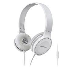 Наушники с микрофоном PANASONIC RP-HF100MGC, 3.5 мм, накладные, белый [rp-hf100mgcw]