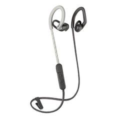 Наушники с микрофоном PLANTRONICS BackBeat Fit 350, Bluetooth, вкладыши, серый/бежевый [212344-99]