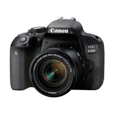 Зеркальный фотоаппарат CANON EOS 800D kit ( EF-S 18-55mm f/4-5.6 IS STM), черный