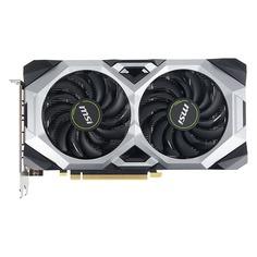 Видеокарта MSI nVidia GeForce RTX 2060 , RTX 2060 VENTUS 6G OC, 6ГБ, GDDR6, OC, Ret