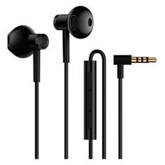 Наушники с микрофоном XIAOMI Mi Dual Driver Earphones, 3.5 мм, вкладыши, черный [zbw4407ty]