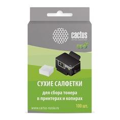 Сухие салфетки CACTUS CS-P2003E , белый