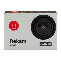 Экшн камеры Экшн-камера REKAM A100 1080p, серебристый [2680000008]