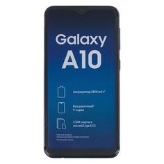 Смартфон SAMSUNG Galaxy A10 32Gb, SM-A105F, синий