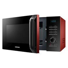 Микроволновая Печь Samsung MS23H3115QR 23л. 800Вт красный/черный